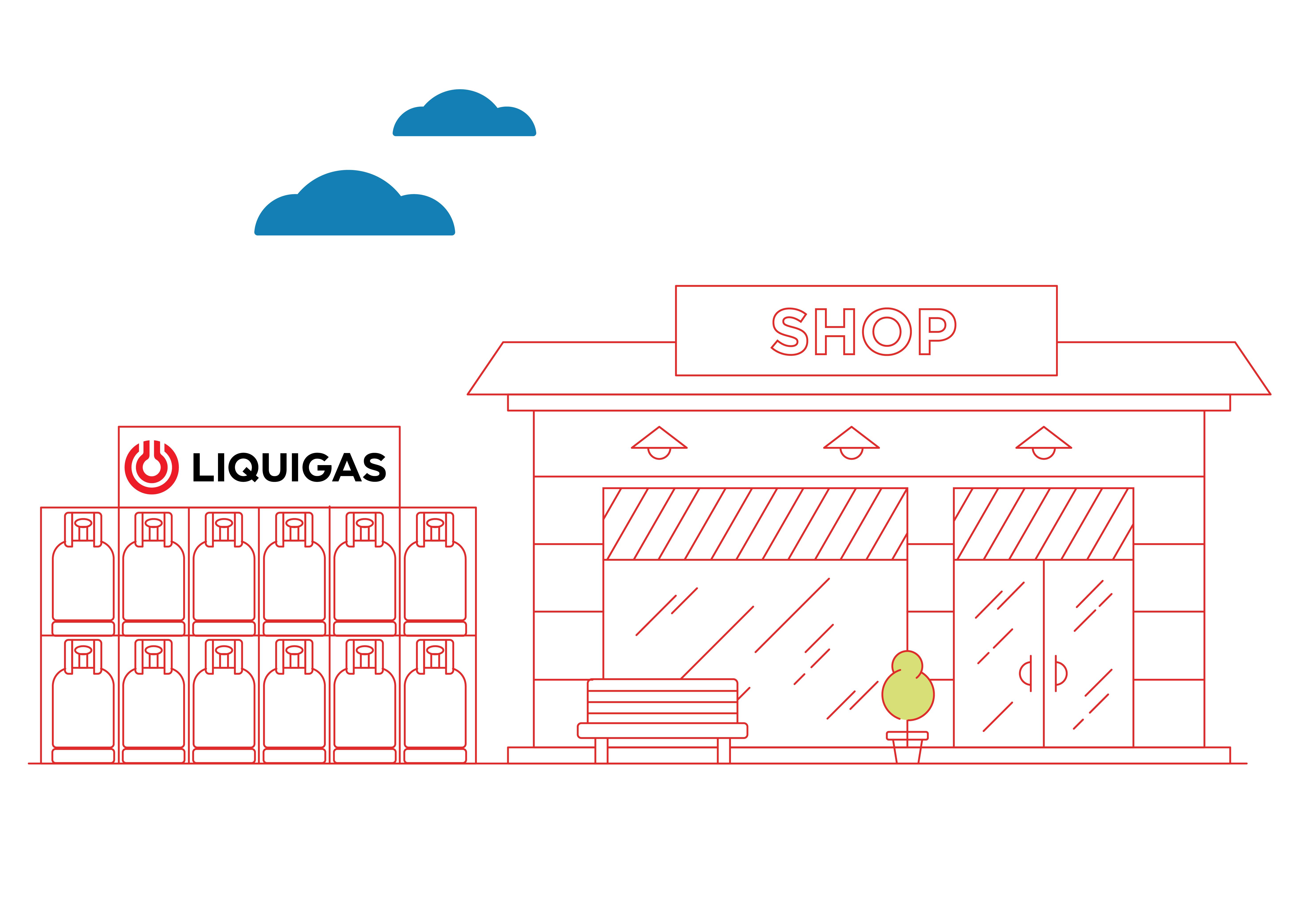 negozi e rivenditori liquigas